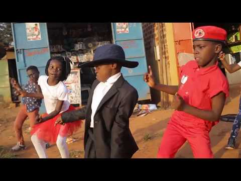 Triplets Ghetto Kids Dancing Bajikona by Spice Diana