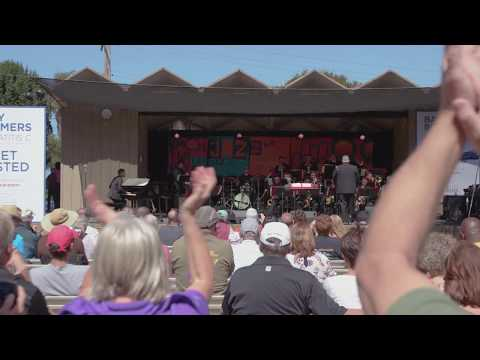 """University of the Arts' """"Z"""" Big Band performs at the 2017 Monterey Jazz Festival"""
