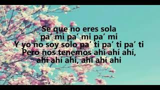 Mau y Ricky, Karol G - Mi Mala ( Lyrics)