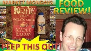 Kettle® Brand Chips-maple Bacon & Odwalla® Vanilla Al'mondo® Super Protein® Review! Peep This Out!