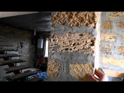 видео: Стены, много идей, но есть и варианты-кирпич, ракушка!