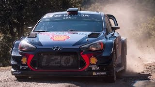 WRC世界ラリー選手権第4戦フランス(ツール・ド・コルス) ハイライト