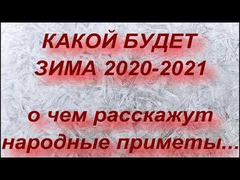 КАКОЙ БУДЕТ ЗИМА 2020-2021 ... НАРОДНЫЕ ПРИМЕТЫ И ПРОГНОЗ СИНОПТИКОВ..