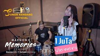 Memories (cover) Sunan Kendang ft Donna Jello - Maron 5