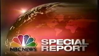 NBC News Special Report Intro 2003