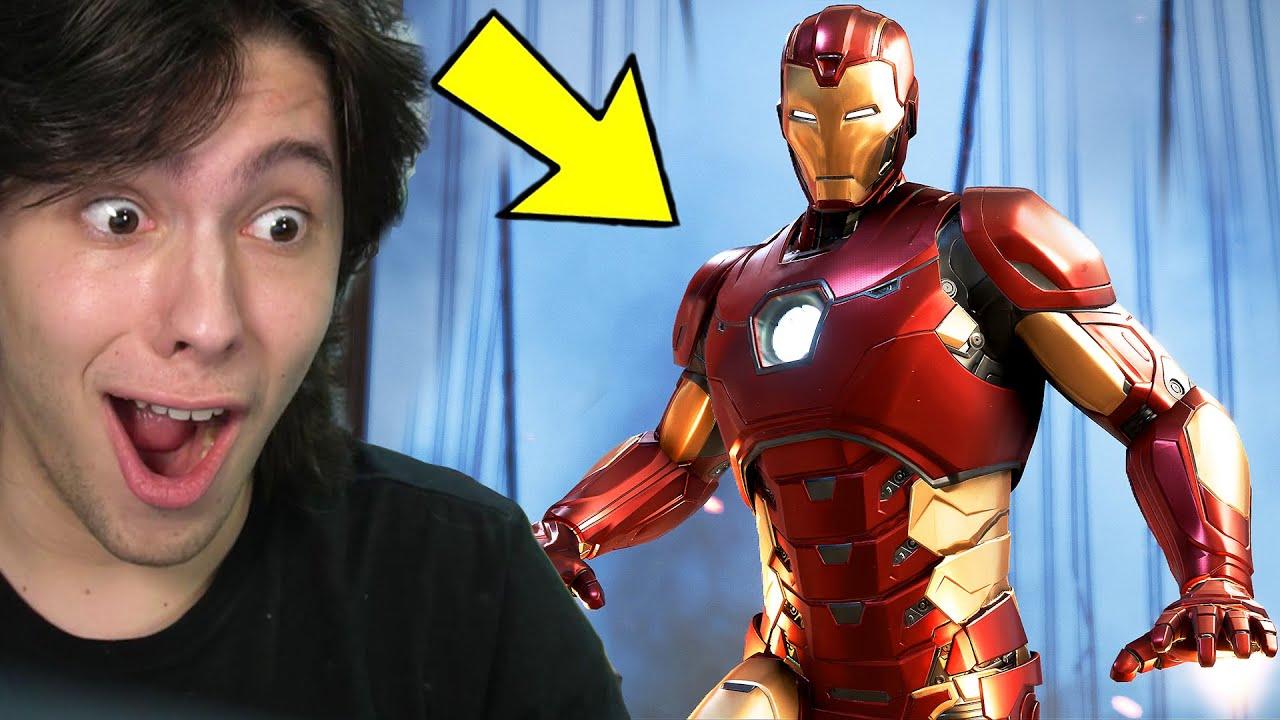 JOGANDO COMO O HOMEM DE FERRO!! (Avengers)