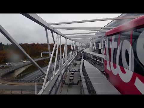 """Frankfurt """"Squaire"""" metro - Airport metro to Squaire"""