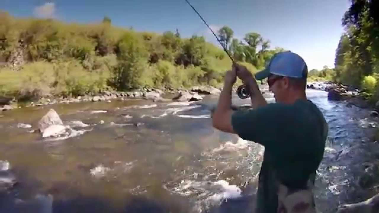 Short Edit  Idaho Small Stream Fly Fishing Fall River
