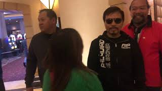 Fake manny pacquiao gets lots of attention