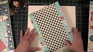 Scrapbooking Process Video: Peek-a-boo!