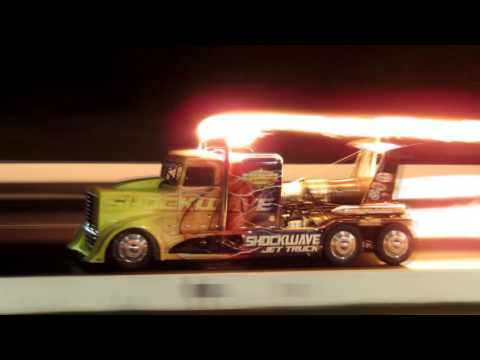 Shockwave Jet Truck  2016 Lebanon Valley Dragway Night Of Fire