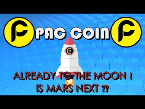 PAC COIN ALREADY TO THE MOON - IS MARS NEXT ? (PAC)