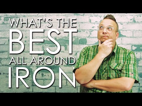Best All Around Iron With Travel Iron Hack (Over 3k views on Facebook.com/DadSews!)