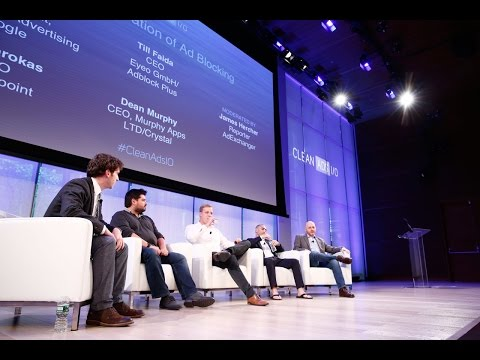 """In Consideration of Ad Blocking"" - Clean Ads I/O 2016 panel discussion"