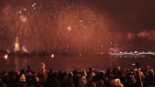 Питер/Салют над Невой/30 декабря 2016 год