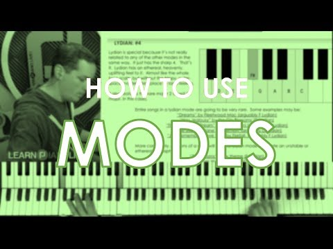 Modes and Scales Music Theory Workshop