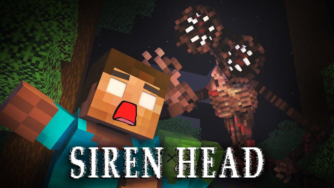 Monster School: SIREN HEAD VS MONSTER SCHOOL - Minecraft Animation