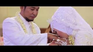 pernikahan dokter dan bidan yang sederhana namun berkesan