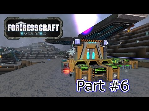 FortressCraft Evolved | Lithium and the Spiderbot Base | #6