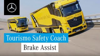 Mercedes-Benz Technology and Innovation | The Tourismo Safety Coach. [EN]