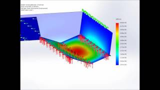 Catamaran Hull Failure Simulation