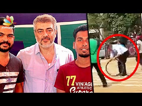 Thala Ajith Spotted with his fans | Viswasam