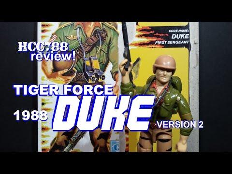 HCC788 - 1988 Tiger Force DUKE v2 - Vintage G.I. Joe toy review! HD