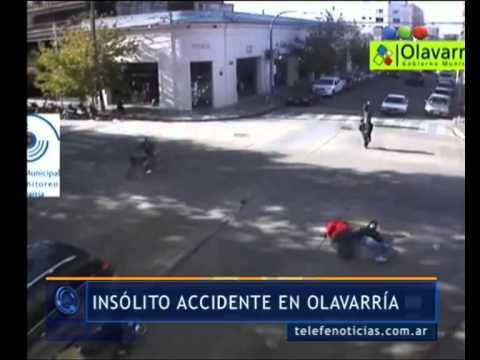 Accidente en Olavarría- Telefe Noticias