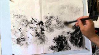 How to Paint Cloud & Mist in Chinese Landscape Painting Using Cotton Xuan Paper HD(1/2)