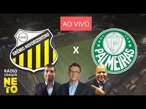 Novorizontino x Palmeiras (AO VIVO) - Rádio Craque Neto