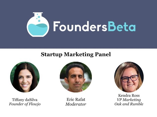 Startup Marketing Panel: Inbound, Outbound, and SEO