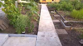 бетонная дорожка своими руками