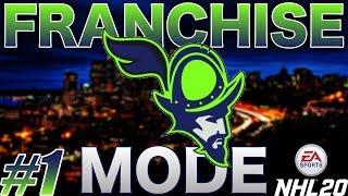 "NHL 20 Franchise Mode - Seattle #1 ""EXPANSION & ENTRY DRAFT!"""