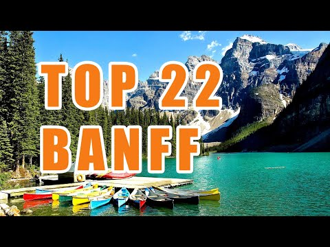TOP 22 Banff Attractions -  All Things To Do - Scenic Drive - Lake Louise and Jasper