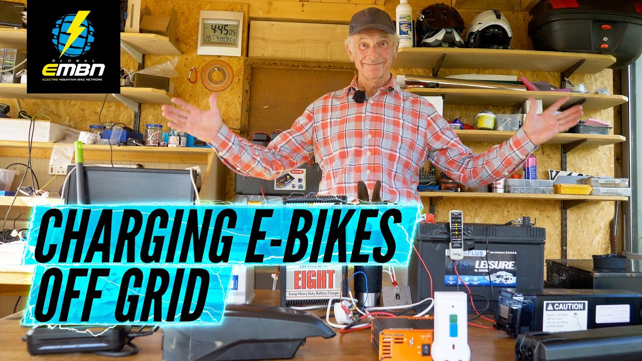 3 Levels Of Off Grid E Bike Charging   Amateur To Pro Setup