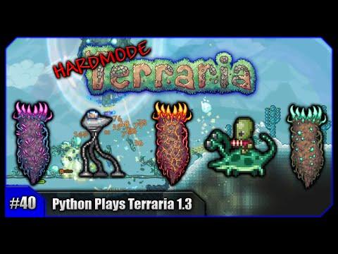 Python Plays Terraria || Martian Madness & Solar Pillar Farming! || Terraria 1.3 PC Let's Play [#40]