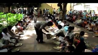 Bhandara in Vrindavan India 2009