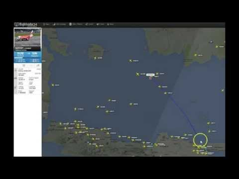 AirAsia Flight QZ8501 from Indonesia to Singapore Goes Missing!
