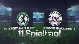 [11.Spieltag/Landesliga] VFB FORTUNA BIESDORF –  EINTRACHT MAHLSDORF II