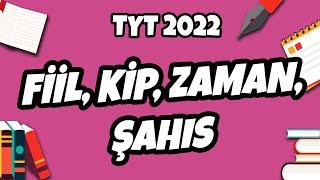 Fiil, Kip, Zaman, Şahıs | TYT Türkçe 2022 #hedefekoş