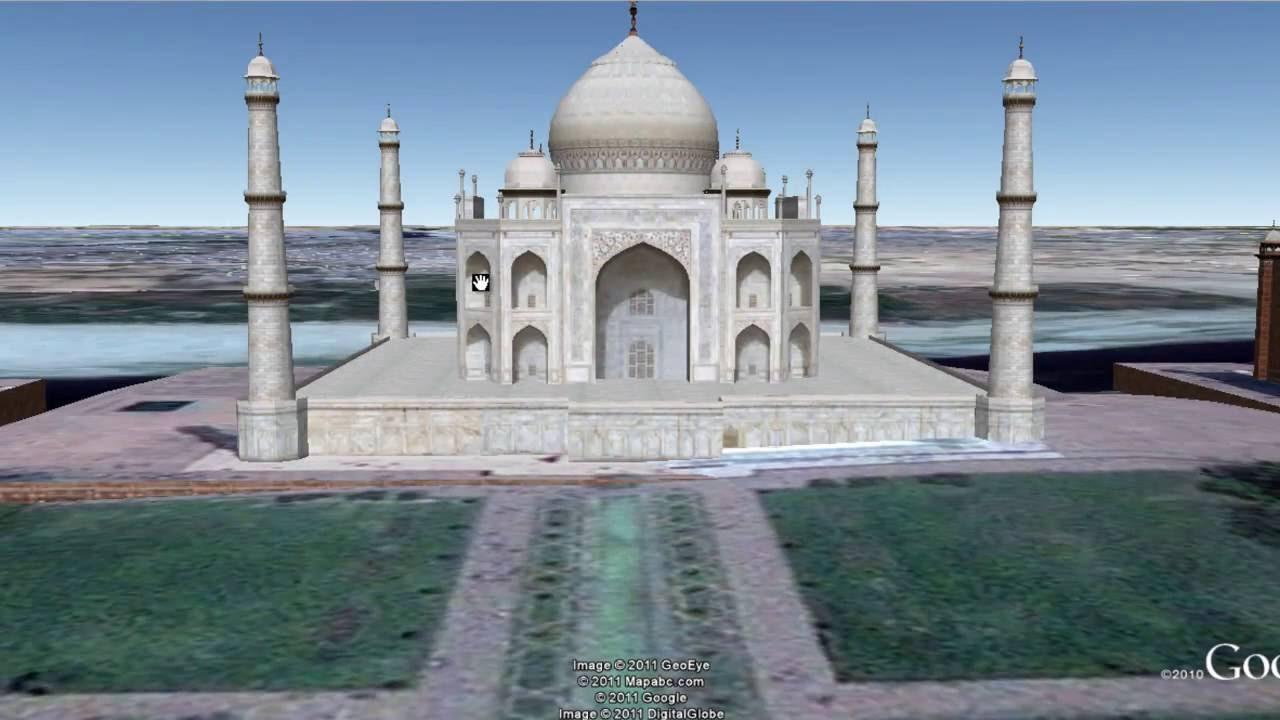 Taj Mahal 3d Image