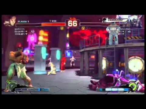 SSF4 AE 2012: Daigo Umehara (Ryu) vs shinochan (Oni) - Endless Battle