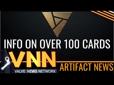 Info on Over 100 Artifact Cards Leaks