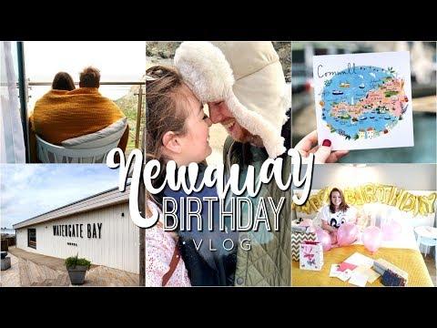Cornwall Birthday Adventure Vlog | Watergate Bay, Newquay 🌊