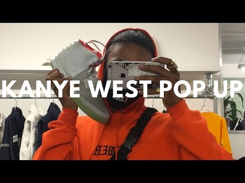 KANYE WEST LONDON POP UP! PABLO PABLO PABLO