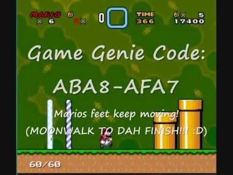 <b>Game Genie</b> Hacking <b>Super Mario World</b>! - YouTube