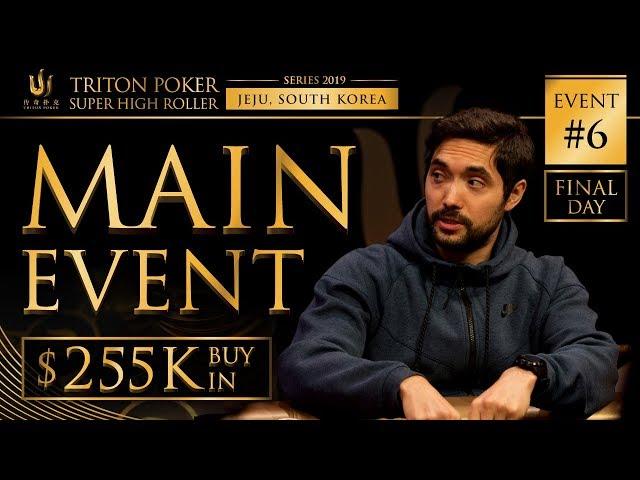 Triton Poker Series JEJU 2019 - NLH Main Event $255K Buy-In 3/3