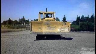 caterpillar d7g dozer with hyster winch