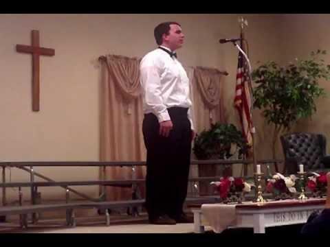 2012  Leesburg Christian School Zach Karp's solo