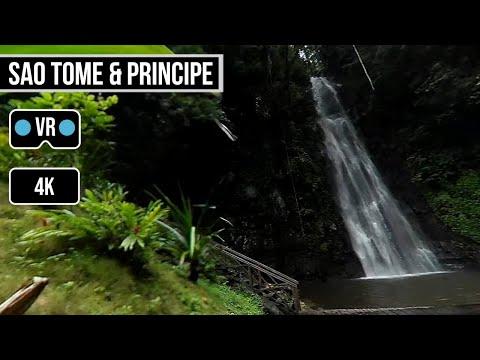 360° VR 4K | Cascata São Nicolau | São Tomé e Príncipe